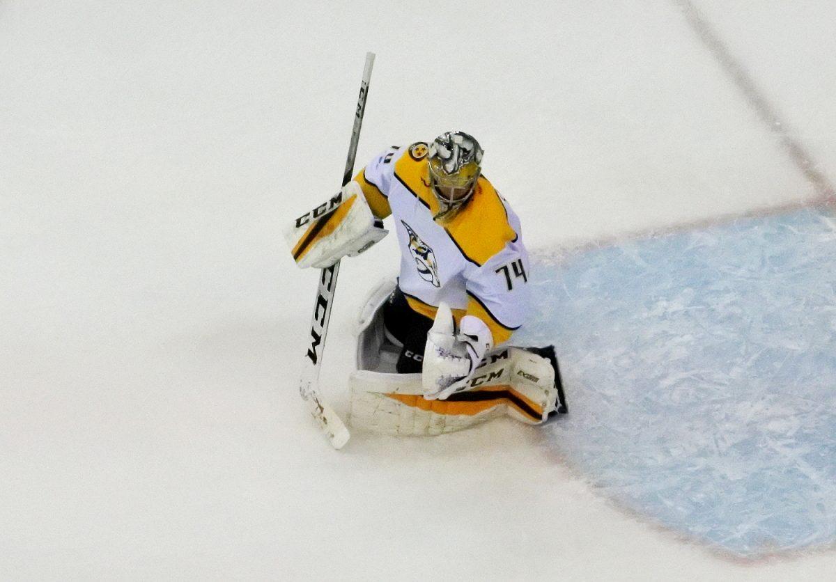NHL: Joonas Donskoi ja Juuse Saros loistavat, Patrik Laine taas penkillä