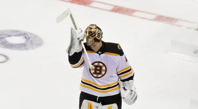 NHL: Tuukka Raskille takaa-ajovoitto, David Pastrnak teki hattutempun, Minnesota karanteeniin