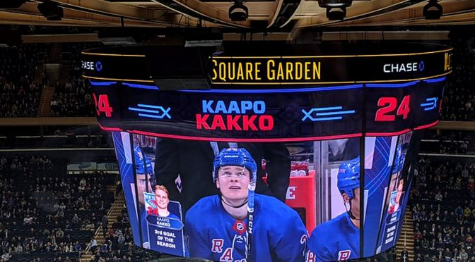 "From ""People Chanted My Name"" to ""Hockey Isn't Fun Right Now"": The Best Kaapo Kakko Quotes from His First Half-season"