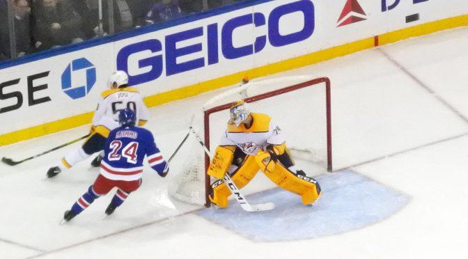 """Pekka Rinne ja Juuse Saros: """"Iso ryntäys"""" kääntämässä Nashvillen NHL-kauden"""