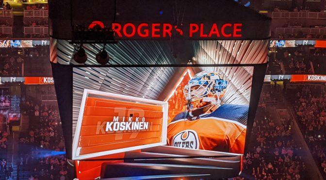 """NHL-maalivahti Mikko Koskinen Edmontonissa: """"Jari ja Esa olivat täällä iso osa dynastiaa"""""""