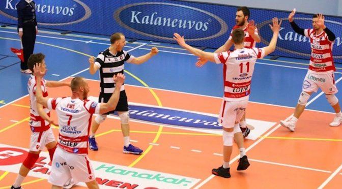 VaLePa ja Savo Volley virittivät jännityksen äärimmilleen