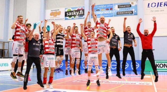 VaLePa on lentopallon Suomen mestari 2021
